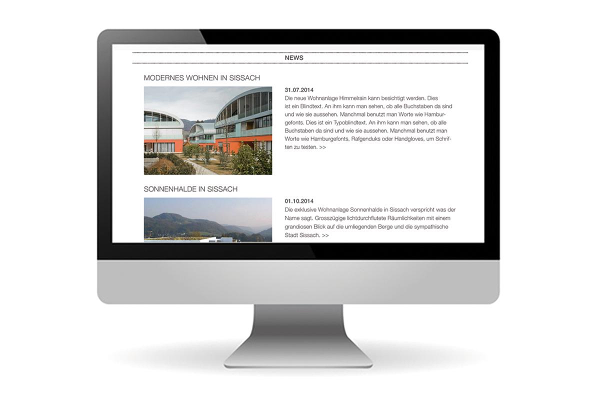 Architekturbüro mit neuem Internetauftritt