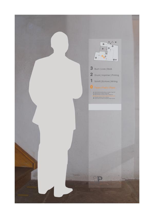 Signaletik der Basler Papiermühle