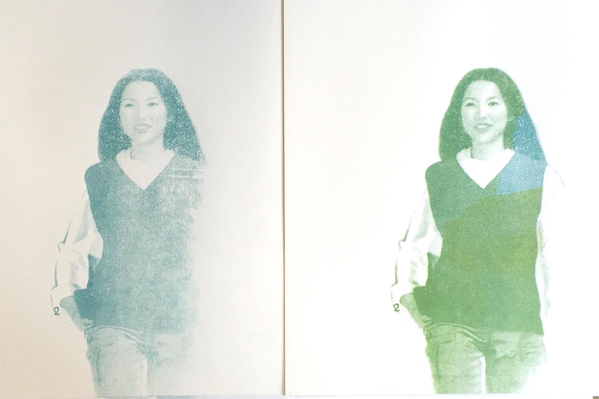 Siebdruckserie «Sisters»