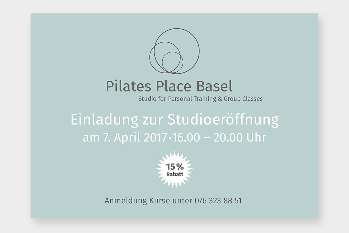 Corporate Design für Pilatesstudio