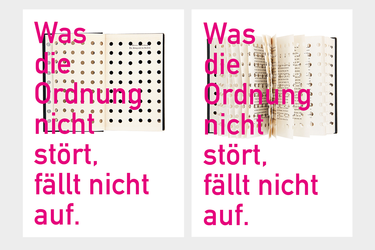 Serigrafien / Serie Ordnungspunkte