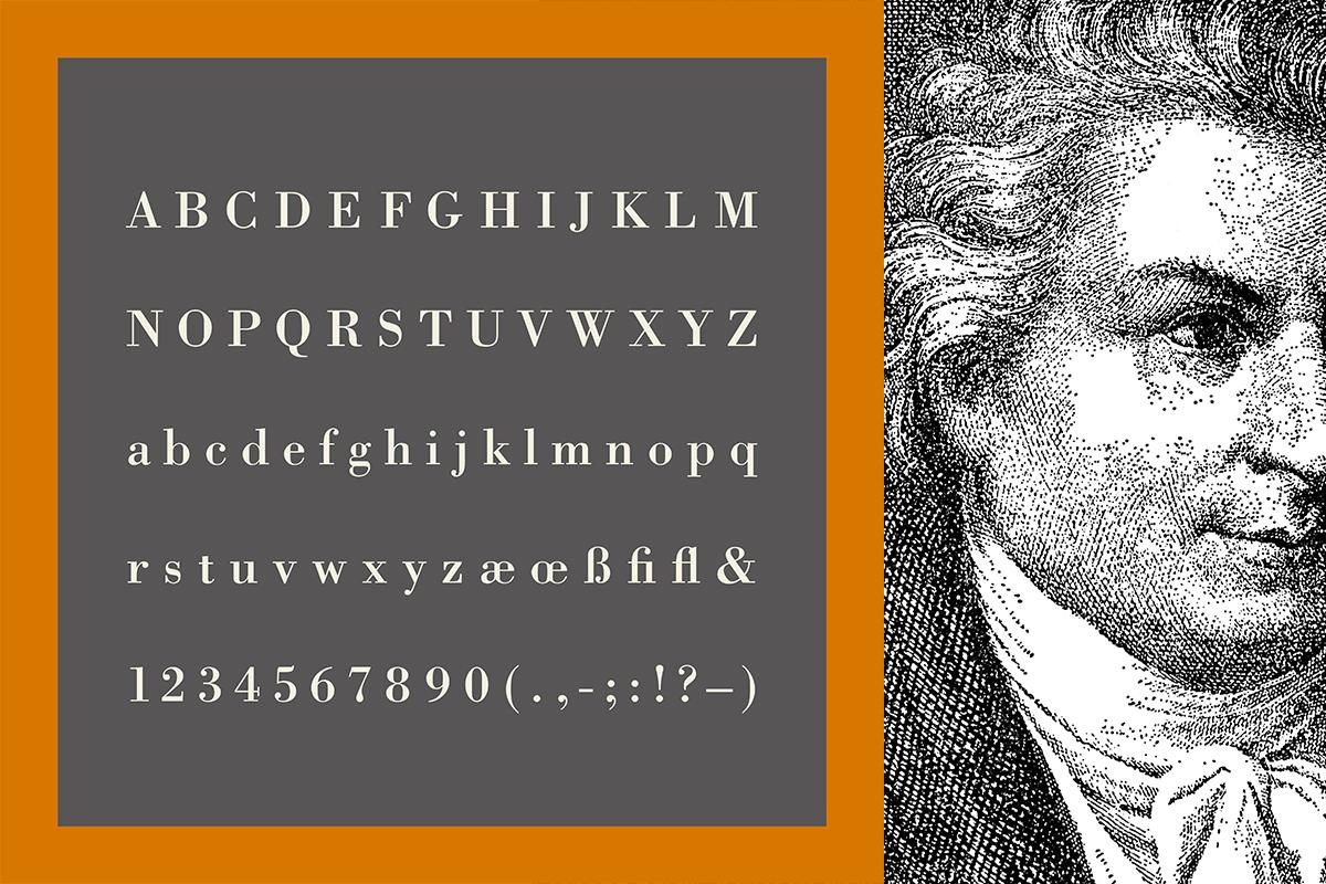 Typografie-Würfel